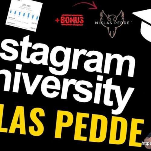 instagram university by niklas pedde