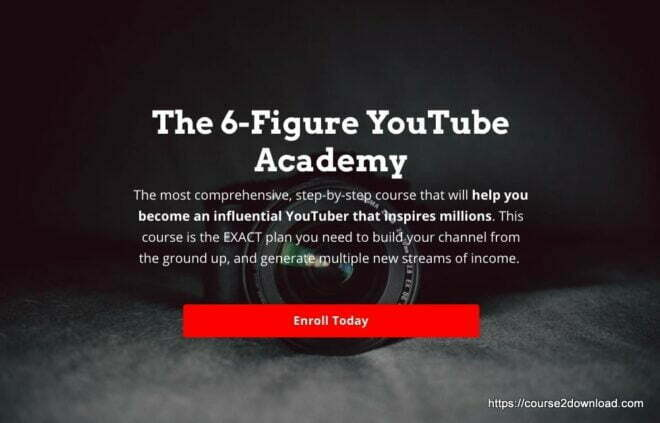 The 6 Figure YouTube Academy By Charlie Chang