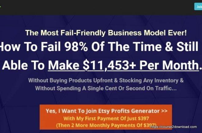 ETSY Profits Generator By Dave Kettner