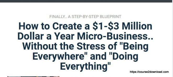 Micro Business Workshop By Ryan Lee